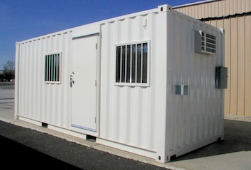 container office trailer in Anaheim